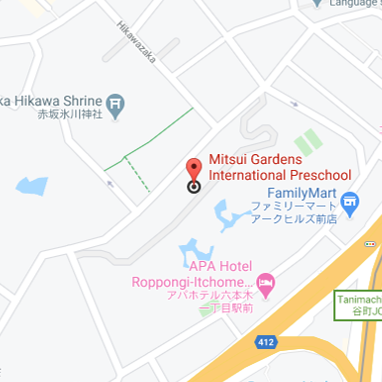Mitsui Gardens International Preschool location